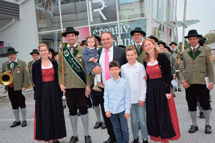 Das Fest wurde begleitet von den Klängen des Musikvereins Ilz.