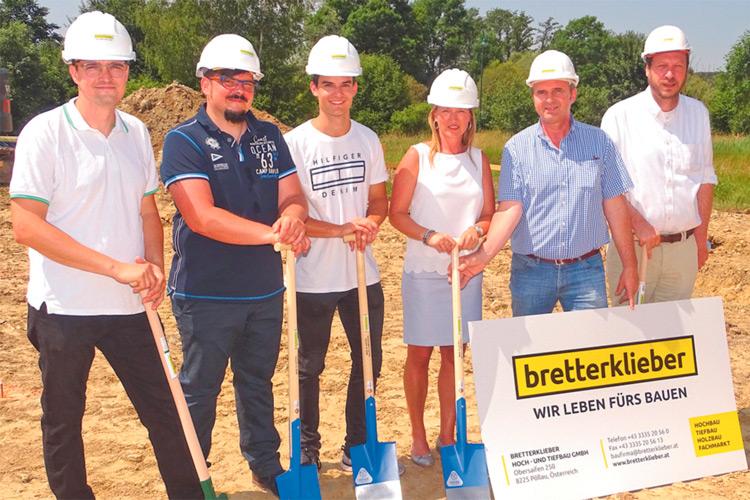 Spatenstich: Mit Edelweyes siedelt sich ein neuer Betrieb in Kaindorf an.