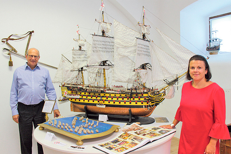 """""""Schiff Ahoi"""" in der unglaublichen Ausstellung """"Welt der Schiffe""""."""