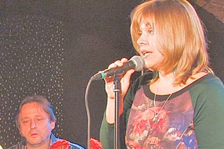 Texte und Lieder gehören zum Leben von Sabine dazu.