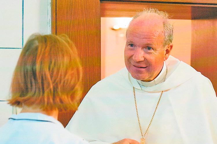 Kardinal Dr. Schönborn erfreute sich immer an Franziskas Kulinarik.