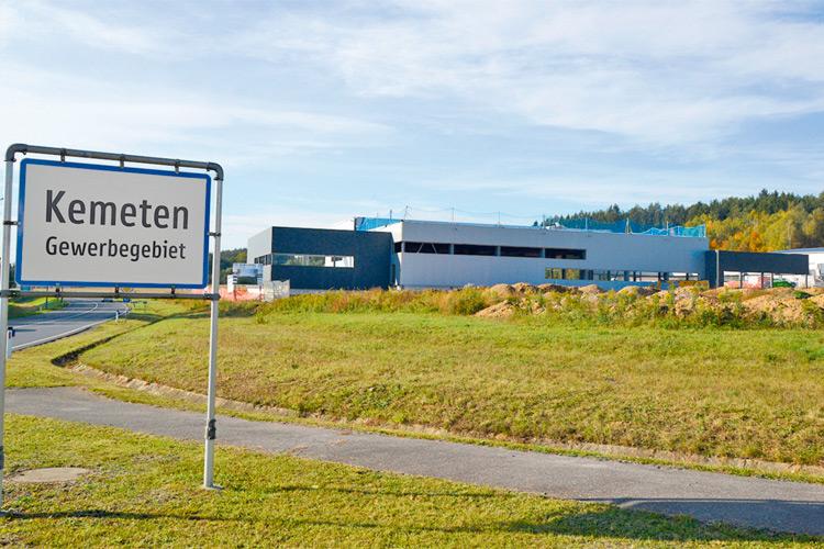 Das Gewerbegebiet von Kemeten ist das Aushängeschild der Gemeinde.
