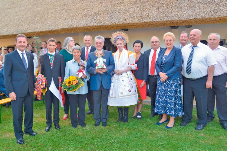 2013 kam sogar BP Dr. Heinz Fischer zur Wiedereröffnung des Heimathauses.