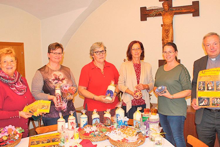 Christine Ladenhauf, Anna Zotter, Steffi Fischer, Roswitha Sommer, Agnes Reißenbüchel und Mag. Friedrich Weingartmann.