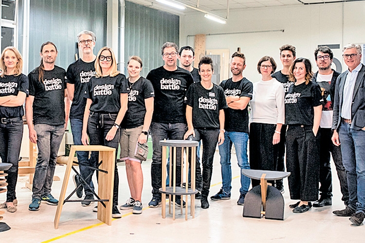 """Design Battle"" in Kirchberg/R."
