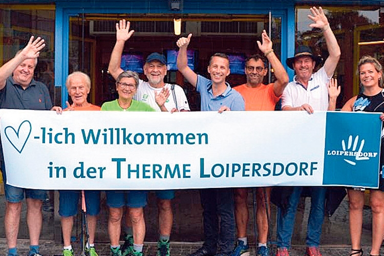 "Der ""Superwanderer"" in Loipersdorf"