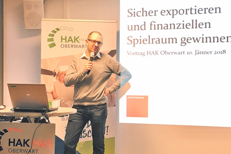 "BHAK Oberwart Vortrag: ""Internationaler Handel"""